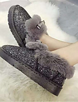 Women's Shoes  Flat Heel Round Toe Boots Casual Pink / Gray
