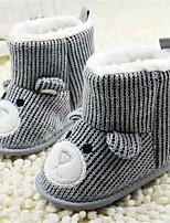 Baby Shoes - Tempo libero / Casual - Stivali - Finta pelle - Grigio