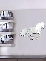 Animales / 3D Pegatinas de pared Adhesivos de Pared Espejo , PS 35*25cm