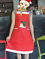 Snowman Apron for Christmas Party Home Decoration