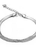 Japan and Korea style 925 Sterling Silver Bracelet