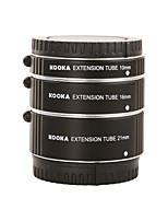 kooka kk nm47a-tubo de extensão de alumínio af para Nikon 1 série (10 milímetros 16 milímetros 21 milímetros) câmeras