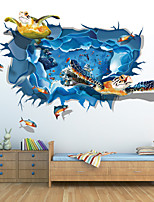 3D Wall Stickers Wall Decals, Sea Turtles PVC Wall Stickers