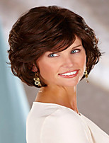 Elegant Syntheic Wig Top Quality  European Lady Women  Brown Wave  Wigs