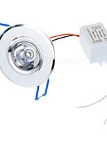 Lampes Panneau Commandée à Distance RGB HLM 1 pièce 3W 1 LED Haute Puissance 100-450 LM AC 85-265 V