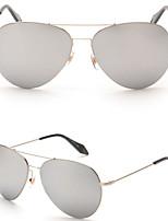 Women 's Mirrored  100% UV400 Oval Sunglasses