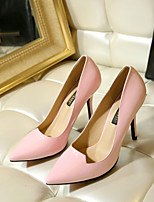 Women's Shoes Leather Stiletto Heel Heels / Pointed Toe Heels Wedding Party & Evening  Dress More Colors Available