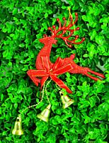 Accessoire de Costume Accessoires Parti Noël rustique Theme Other Non personnalisé Plastic Doré / Argent / Rouge 1Pièce/Set