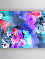 Oil Painting Abstract Flower Painting by Knife Hand Painted with Stretched Framed Ready to Hang
