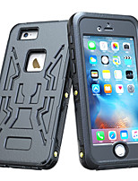 Para Funda iPhone 6 / Funda iPhone 6 Plus Antigolpes / Impermeable Funda Cuerpo Entero Funda Un Color Dura PolicarbonatoiPhone 6s Plus/6