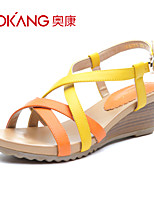 Aokang® Women's Leatherette Sandals - 132823810