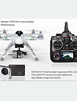 6ch drone rc walkera x350 pro 2.4g 4axis transmisor devof7 con la cámara 1.3MP ilook drones blancas rtf