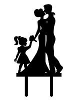 Figurine - Akryyli - Häät / Vuosipäivä / Bridal Shower-kutsut - Klassinen teema - Klassinen pari