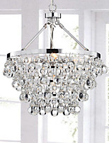 Chandeliers Crystal Traditional/Classic Living Room / Bedroom / Dining Room / Study Room/Office / Entry / Hallway Metal