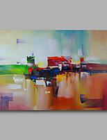 prêt à accrocher étiré peinture à l'huile peinte à la main sur l'art mur de toile abstraite contemporaine un panneau moderne