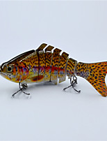 Hot 10 CM 15.5 Gram Live Like Swim Motion Segmented Fishing Lure Hard Body Fishing Tackle