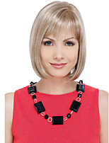 Blonde Color Synthetic Medium Wigs To European Women Lady Cheapest Price