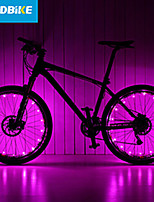LEADBIKE Bike Light Wheel Lights 2 Mode Bike Battery AAA Rechargeable / Easy to Carry Cycling Green / Pink / Red