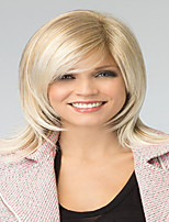 Best Seliing Charming Blonde Color  Extensions European Lady Women Wig Syntheic  Wigs