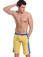 Men's Shorts , Casual / Sport Plaids & Checks Polyester