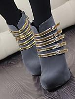 Temperament with Phnom Penh Side Zippers Thick Bottom Women's Wedding Thin Heel Platform Pumps/Heels Boots
