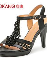Aokang® Women's Leather Sandals - 132811409