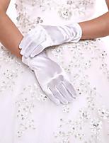 Até o Pulso Com Dedos Luva Elastano Luvas de Noiva Luvas de Festa Primavera Outono Inverno