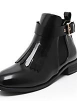 Women's Shoes  Chunky Heel Combat Boots / Round Toe Boots Outdoor / Dress / Casual Black