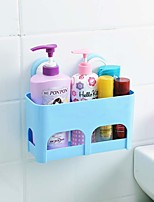 Colourful Strong Sucked Type PP Bathroom Basket