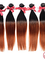 evet 1pc beaucoup péruvien cheveux vierges droite 7a # 1BT # 30 faisceaux de cheveux ombre humains tissent les cheveux vierge non traitée