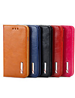 Fashion Smoothy Genuine Leather Cover for iPhone 4/4S