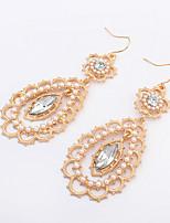 Women's European Style Fashion Elegant Imitation Pearl Earrings