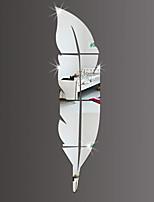 Lazer Wall Stickers Autocolantes de Parede Espelho Autocolantes de Parede Decorativos,PVC Material Removível Decoração para casa Decalque