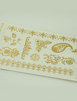 10/PCS Hot Sale Color-Changing Tattoo Handsome Multi-Style Temporary Tattoo For Fashion WST-211