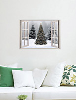 3D Wall Stickers Wall Decals, Christmas Tree Decor Vinyl Wall Stickers