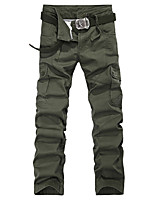 2015 spring and summer men's trousers pocket Han edition outdoor sports fashion men's trousers