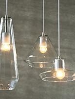 E27 25CM Line 1M 5-15㎡ Creative Personality Chandelier Crystal Droplight Of Single-End Bar Droplight LED 1PC