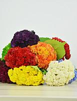 Feel Soft Glue Hydrangea Polyester Hydrangeas Artificial Flowers