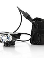 6000 Lumens 3x CREE U2 LED Front Bicycle Lamp Bike Light