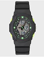 Men's Outdoor Sports Waterproof Multi-Function Mountaineering Double Display Digital Watches