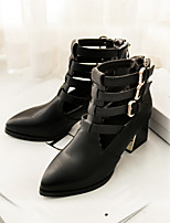 Women's Shoes Chunky  Heel Pointed Toe Ankle Boots More Colors available