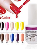 1pcs 9ml uv cola fototerapia gel cor das unhas polish73 # -84 #