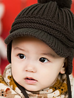 Children's Knitted with Ear Flap Owl Hat(6-24Month)