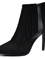 Chaussures Femme - Habillé / Décontracté / Soirée & Evénement - Noir / Gris - Talon Aiguille - Talons / Bottes à la Mode - Talons / Bottes