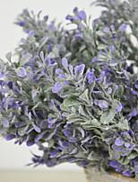 Plástico Plantas Flores Artificiales