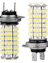 2 coche h7 3528 SMD 120 conducido bombillas de luz blanca luz antiniebla