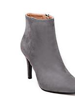 Women's Shoes Suede Stiletto Heel Cowboy / Snow Boots / Fashion Boots / Combat Boots BootsOutdoor / Office
