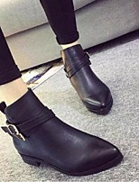 Women's Shoes  Chunky Heel Fashion Boots Boots Office & Career / Casual Black / Brown / Gray