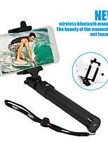 bâton de selfie sans fil portable monopode extensible de sinnofoto avec bluetooth intégré pour iPhone Android Phone