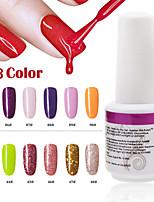 1PCS 9ml UV Color Gel Phototherapy Glue Nail Polish85#90#  43#-48#